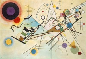 Composition VIII, by Wassily Kandinsky