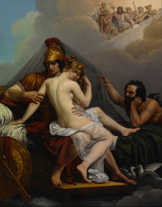 469px-Guillemot,_Alexandre_Charles_-_Mars_and_Venus_Surprised_by_Vulcan_-_Google_Art_Project