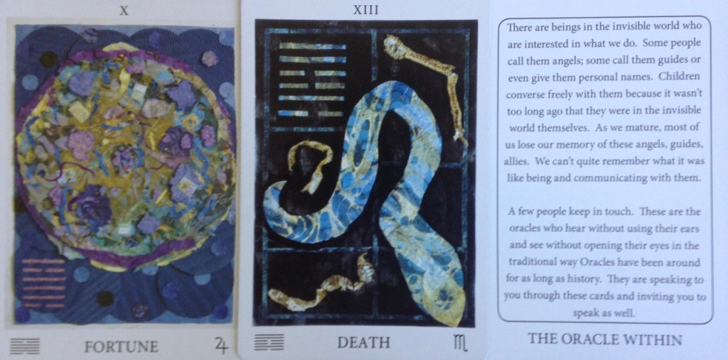 From the Awakening Aeon Tarot Deck, by Marcia O'Hara, AwakeningAeonTarot.com