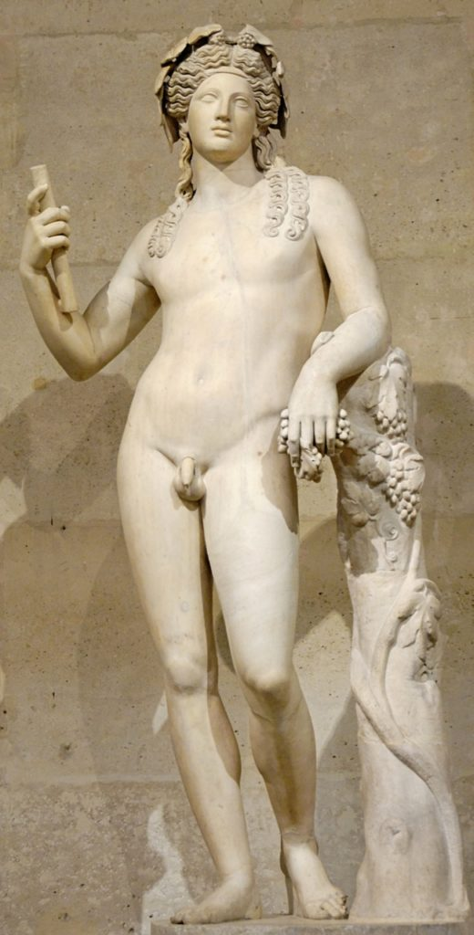 Dionysos © Marie-Lan Nguyen / Wikimedia Commons, via Wikimedia Commons