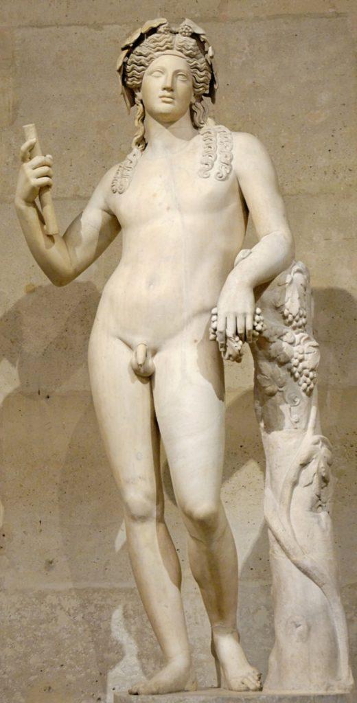 Dionysos © Marie-Lan Nguyen / Wikimedia Commons, via Wikimedia Commons