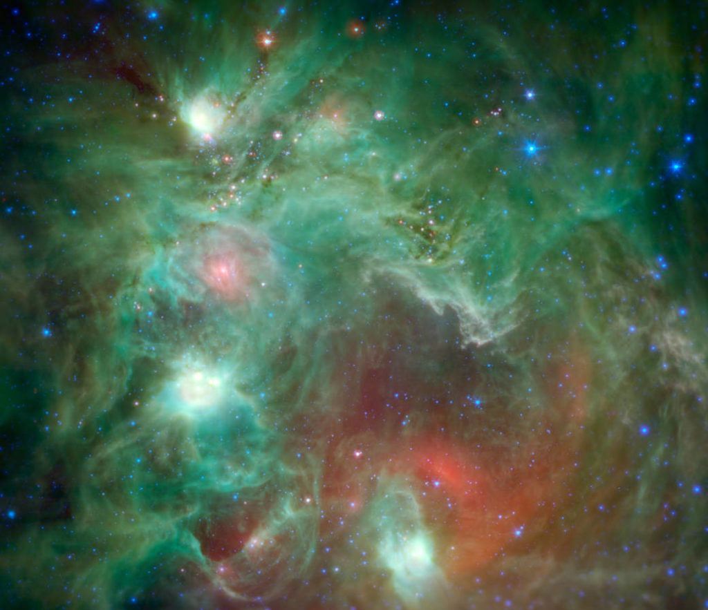 Star-forming region NGC 2174, nasa.gov